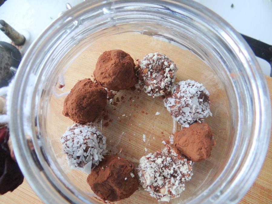 Rauwe cacaotruffels